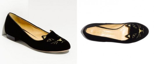 What's Right Meow: New Charlotte Olympia Kitty Flats Perfect for