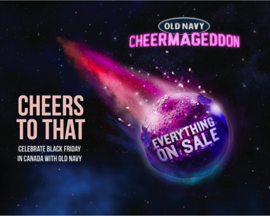 Old Navy Asteroid Cheermageddon Sale