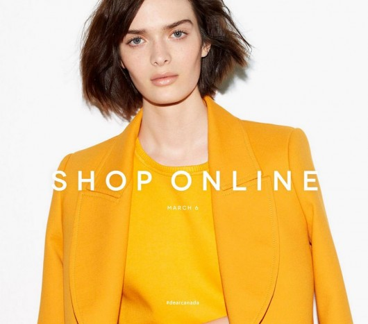 Online clothes shopping canada