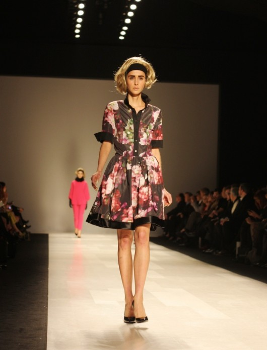 Toronto Fashion Week Pink Tartan Fall 2013 Collection Style Blog Canadian Fashion And