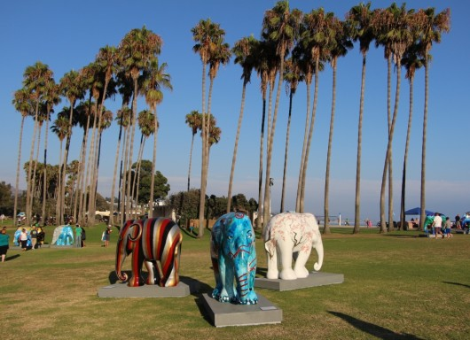 doheny-beach-elephant-parade-7