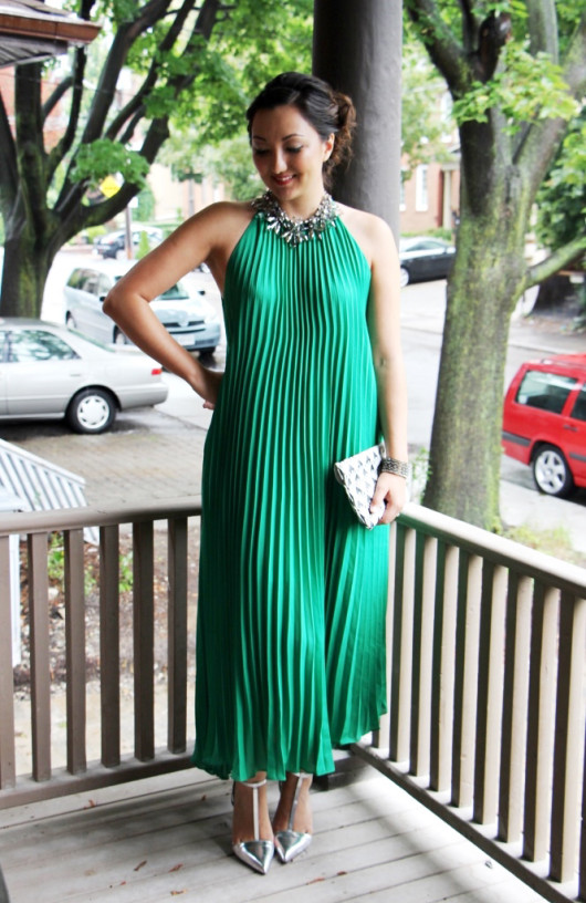 green-pleated-maxi-dress-3