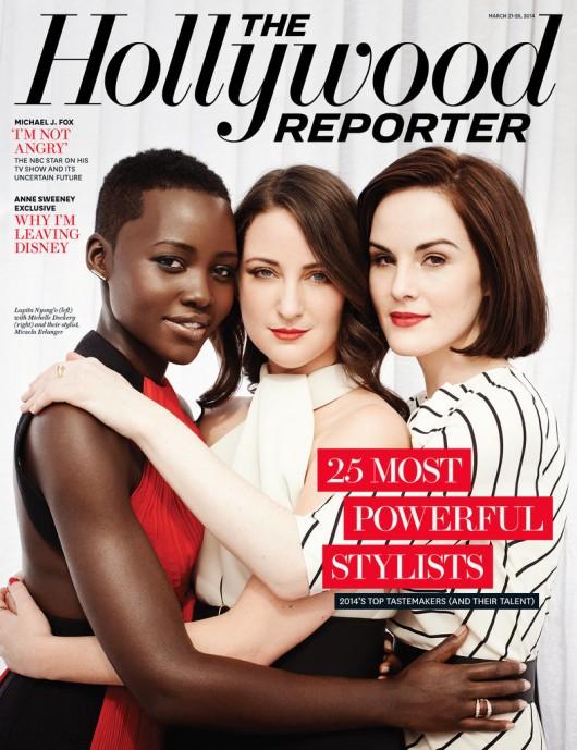 Lupita-Nyongo-Micaela-Erlanger-Michelle-Dockery-Stylist-Hollywood-Reporter