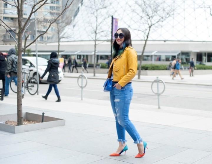 zara-yellow-leather-moto-frayed-jeans10