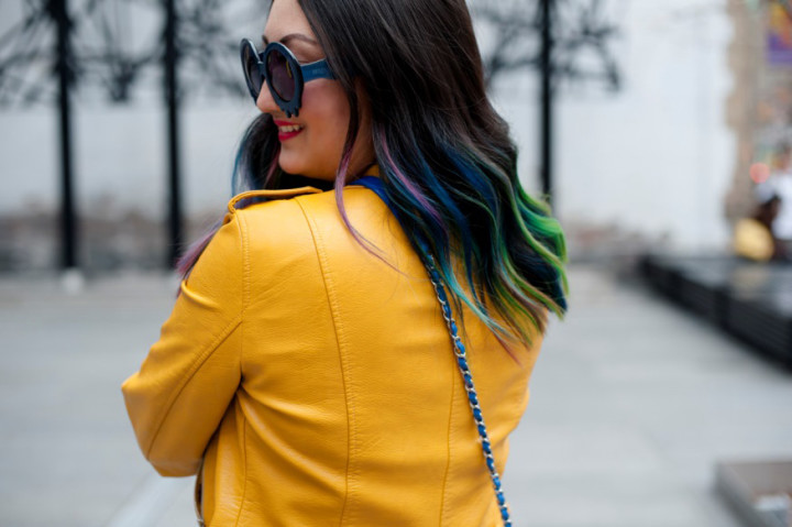 zara-yellow-leather-moto-frayed-jeans12