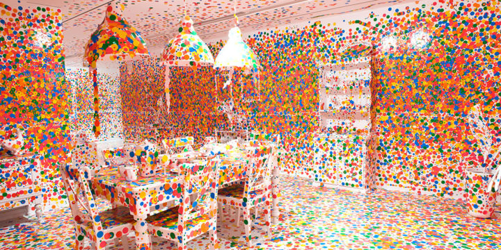 Japanese Artist Who Makes Infinity Rooms