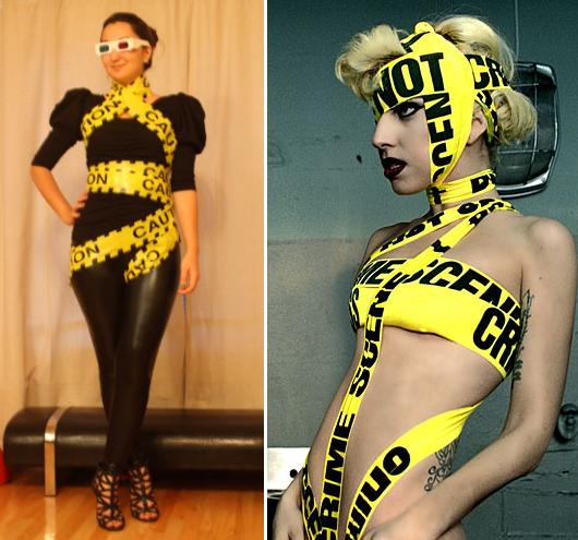 closet costume ideas halloween - Lady Gaga Style Blog
