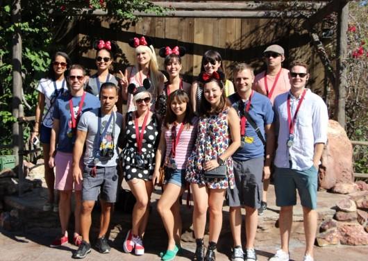 Disneyland Class of 2013: Natalie, Sara, Lauren, Sarah, Aya, Mike, Christopher, Antonio, Casey, Lisa, Nelia, Rob, and Paul