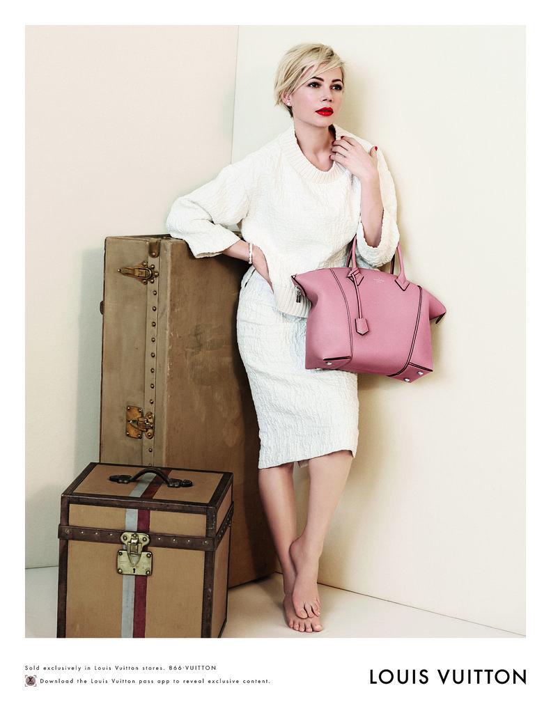 Michelle Williams Spring 2014 Louis Vuitton Handbag