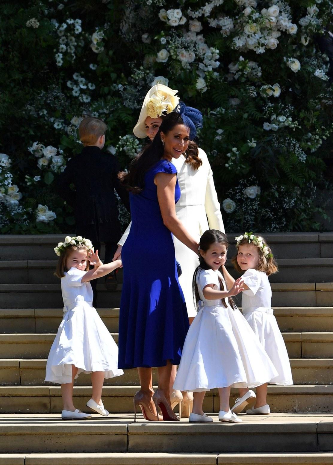 Meghan Harry Royal Wedding Jessica Mulroney Kate Middleton